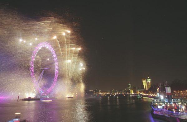 Phoenix Fireworks Displays London Eye
