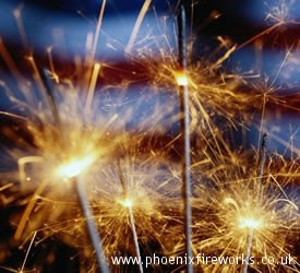 Sparklers x 5 Consumer Fireworks