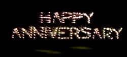 Happy Anniversary Consumer Fireworks Lancework