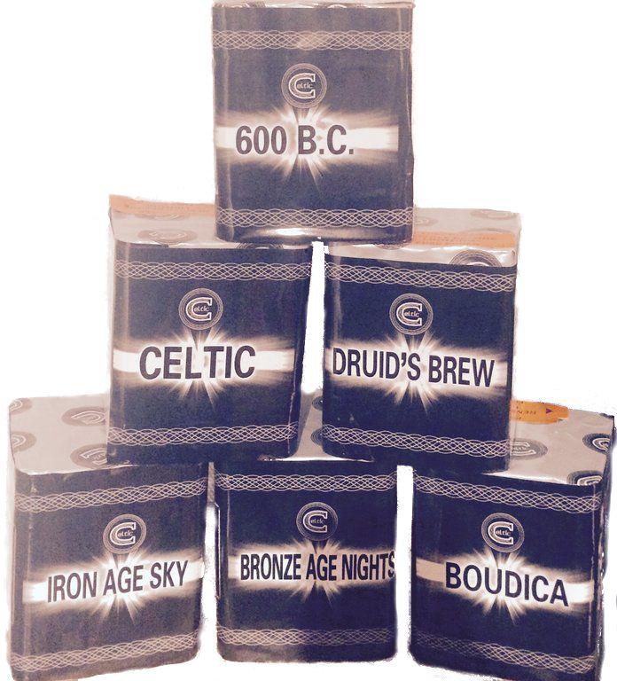 Celtic Six Pack Fireworks