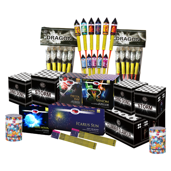 Kimbolton Fireworks Dione Pack
