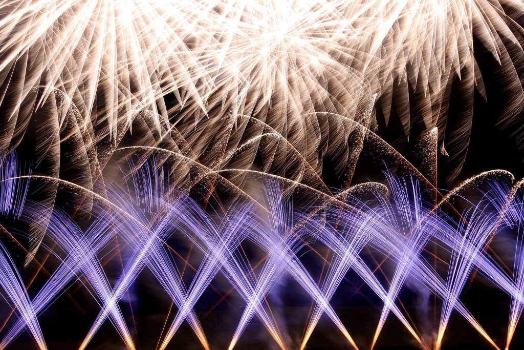 Shells and Mines Firework Display