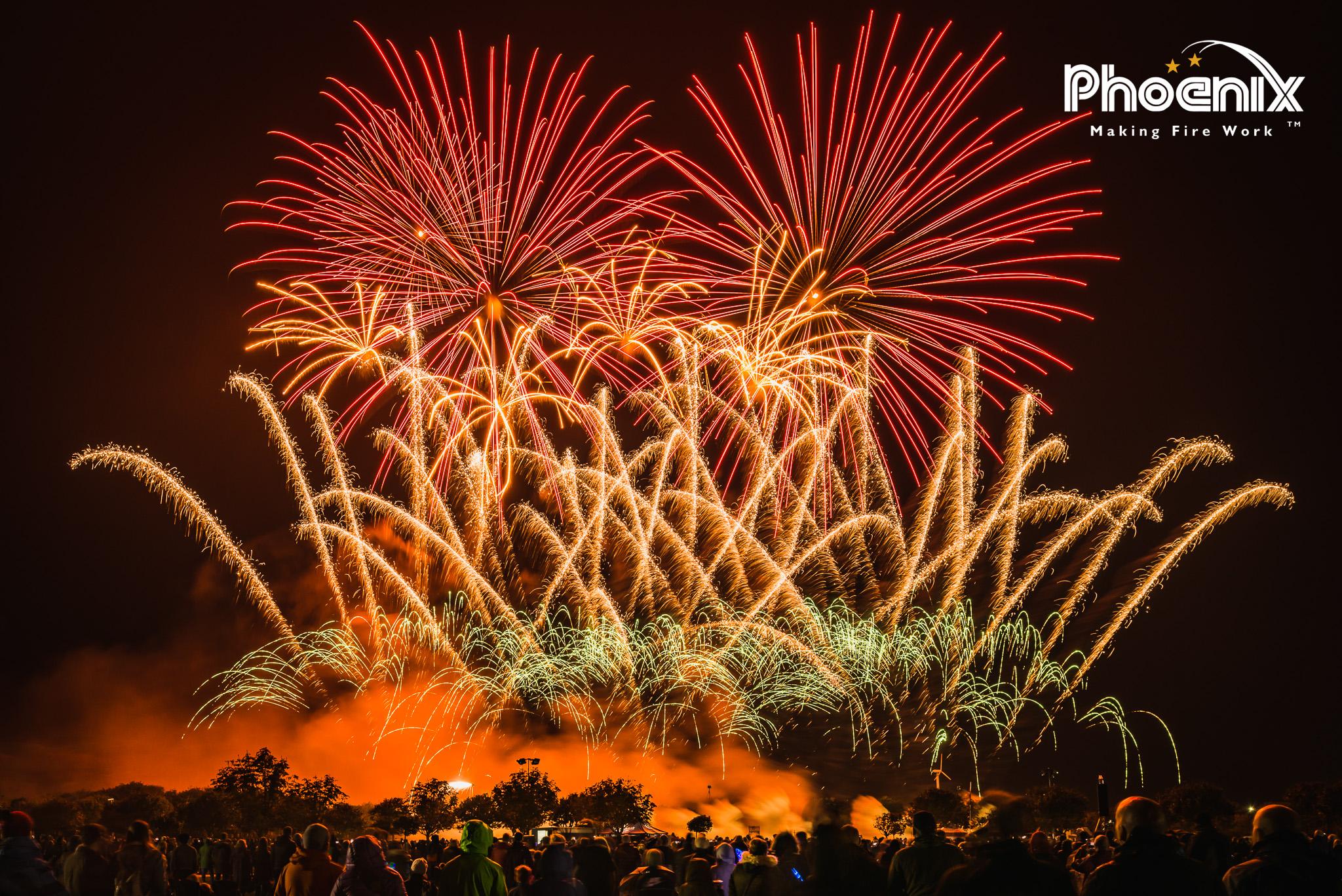 Phoenix Fireworks British Musical Firework Championships