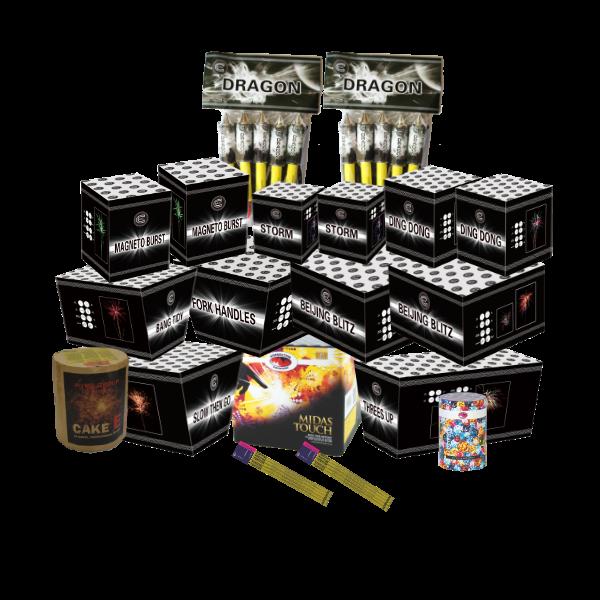 Kimbolton Fireworks Titan Pack