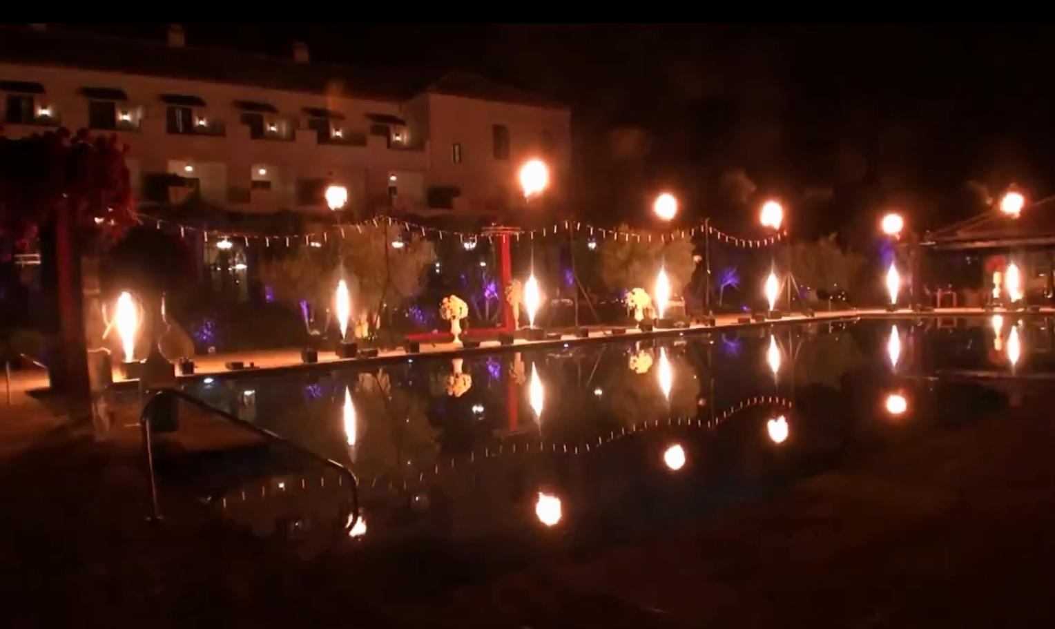 Phoenix Fireworks Flame Projectors